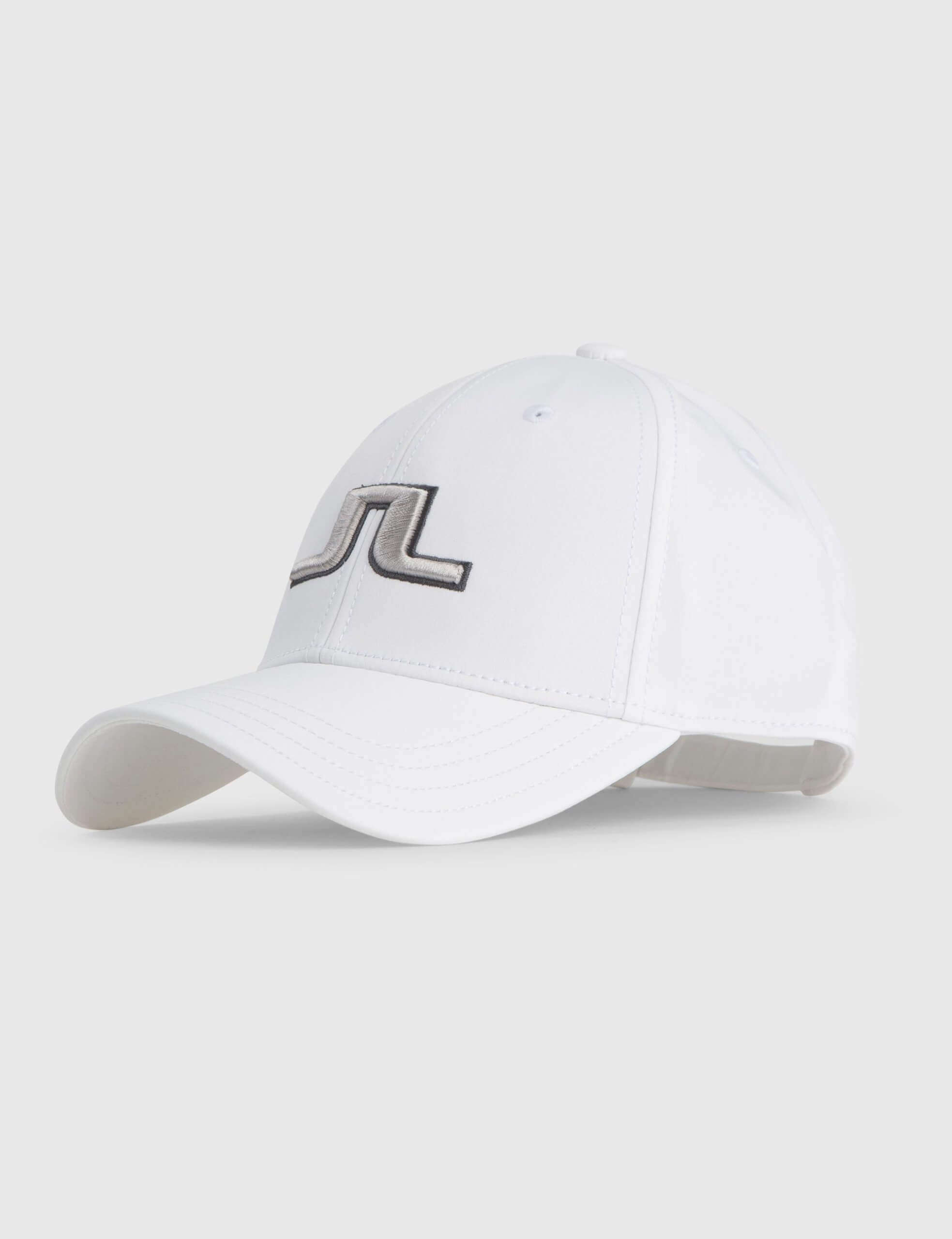 J.Lindeberg - ANGUS Tech Stretch Cap in white