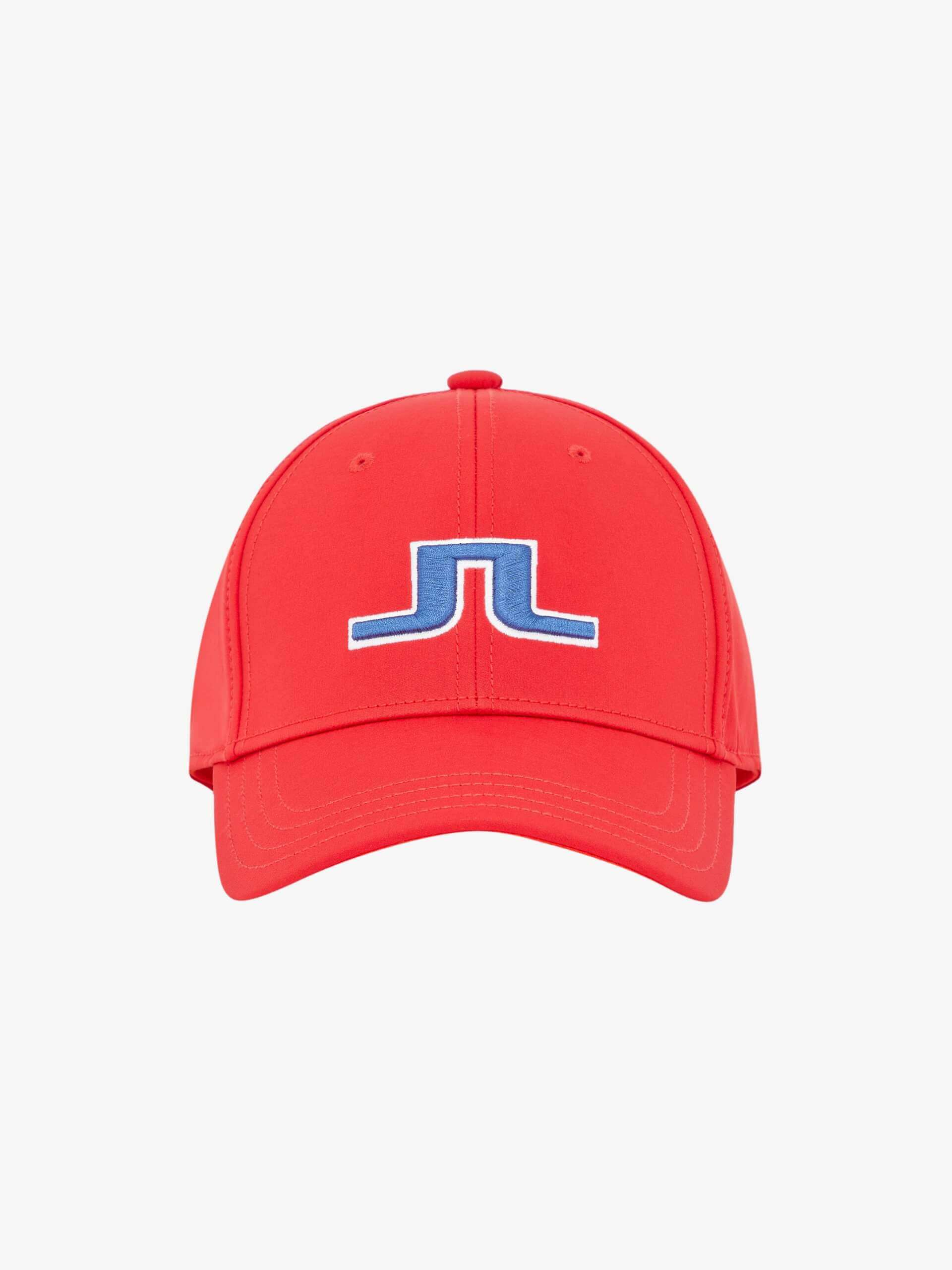 J.Lindeberg - Angus tech stretch cap in red