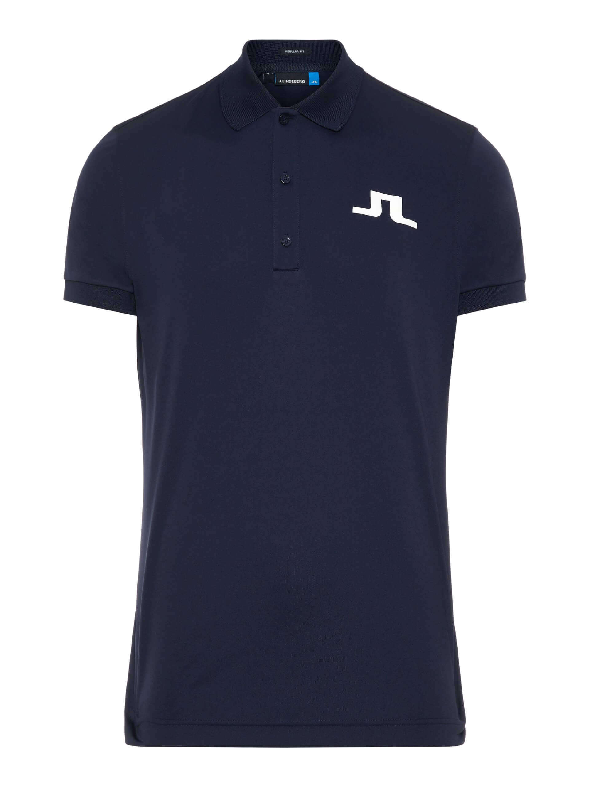 J.Lindeberg Big Bridge TX Jersey in Navy