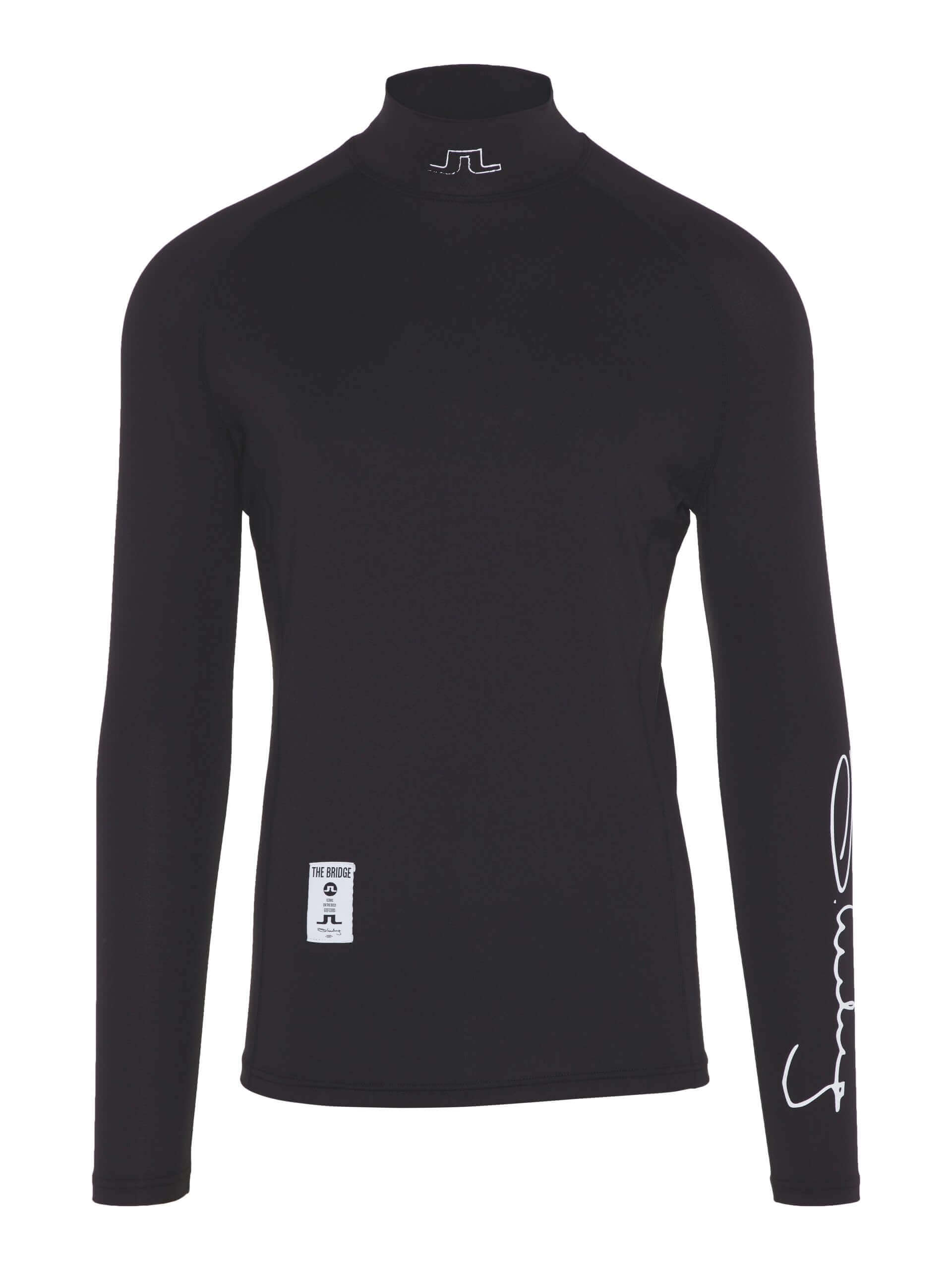 J.Lindeberg - El Soft Compression top in black