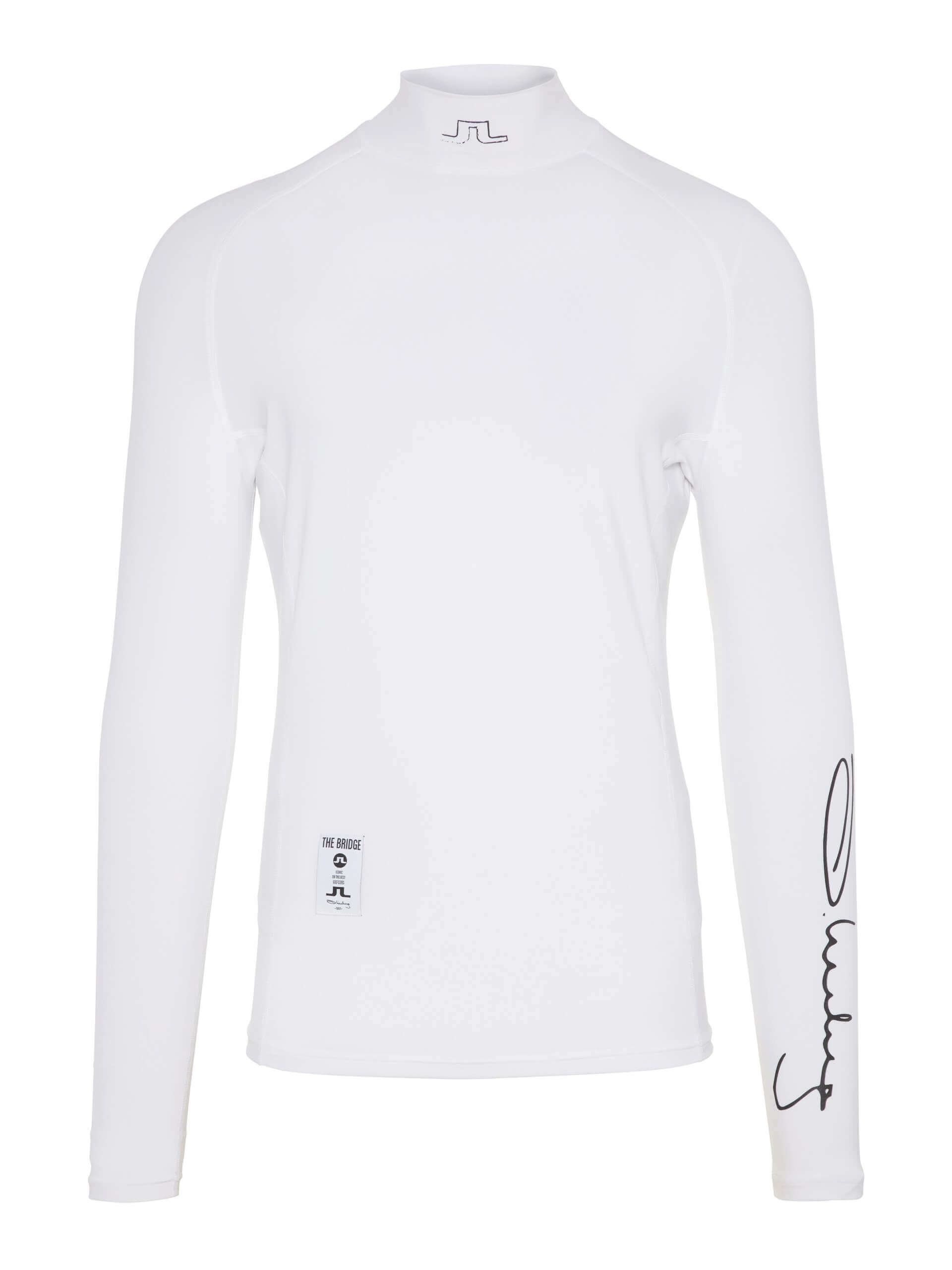 J.Lindeberg - El Soft Compression top in white