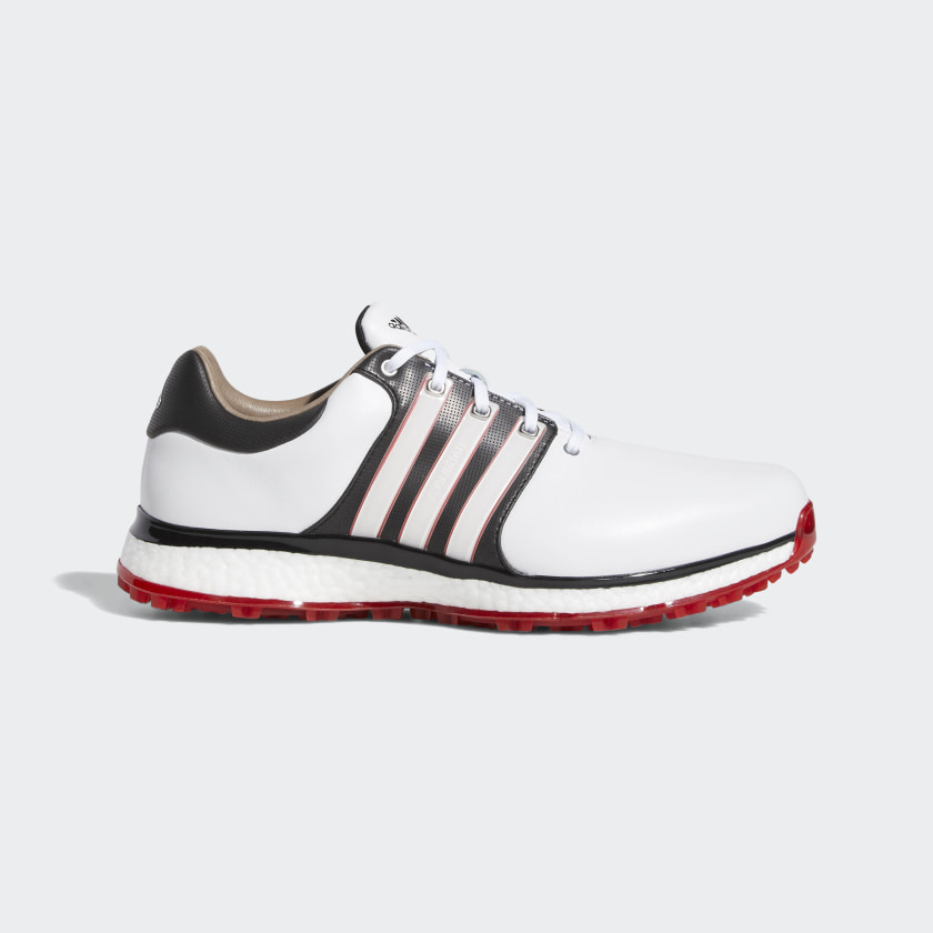 adidas - Tour360 XT-SL Shoes in white, core black and scarlet