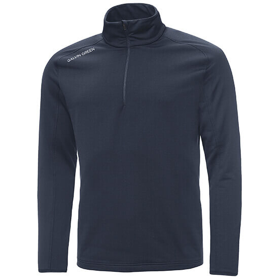 Galvin green - Drake half zip insula in navy