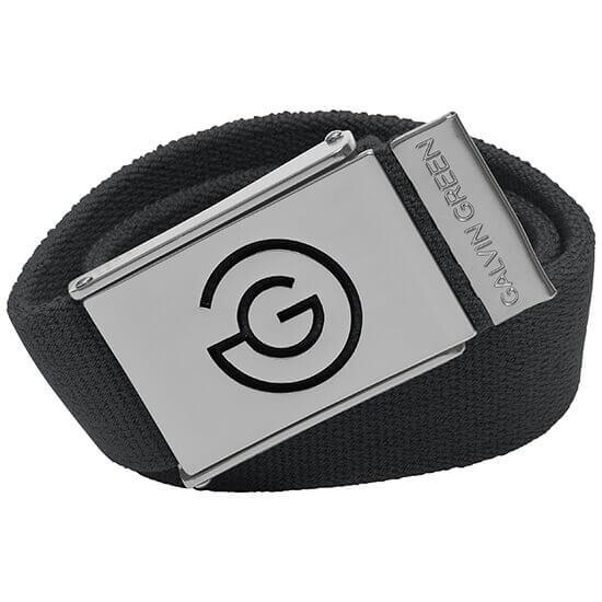 Galvin Green - Warren black nylon belt