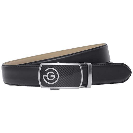 Galvin Green - Wayne black leather belt